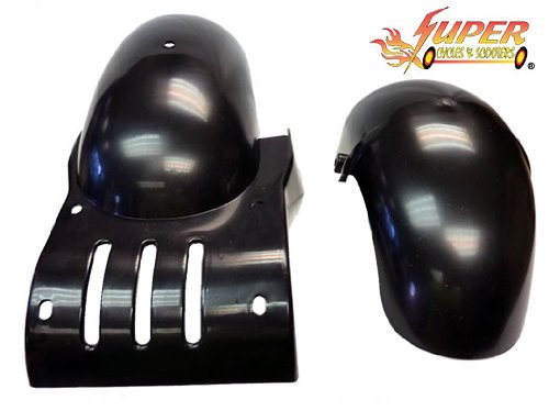 """Splash Guards """"Accessory For Super Turbo 1000 Elite Or Super Lithium 1300-Brushless Electric Scooter"""
