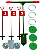 Golf Hole-cutting Set with putting green pins, holecups, covers & stabiliser rings
