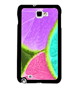 Vizagbeats Color Lemon Pieces Back Case Cover For Samsung Galaxy Note2