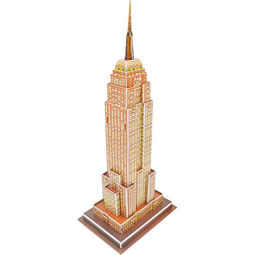 Mtele 3D Assembly Paper Puzzles of the Empire State Building (Empire State Building Model compare prices)
