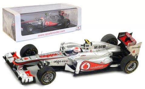 Spark McLaren MP4-26 #4 Winner Japanese GP 2011 - Jenson Button 1/43 Scale Resin Collectors Model
