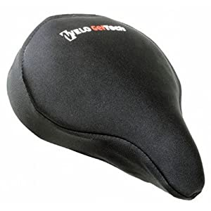 Sunlite Cloud-9, Gel Bicycle Seat Cover, for Cruiser or Exercise Bikes