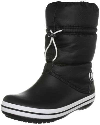 Crocs Women's Crocband Winter Boot,Black/Black,6 M US