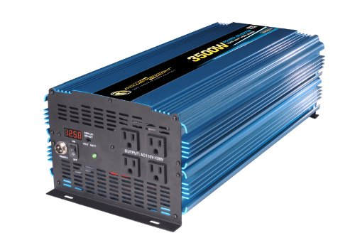 Power Bright PW3500-12 Power Inverter 3500 Watt 12 Volt DC To 110 Volt AC (Rv Power Inverters compare prices)