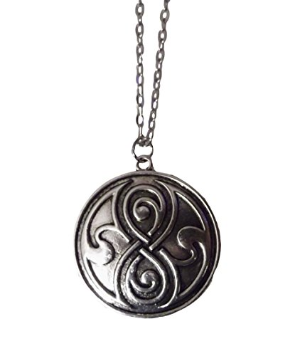 Rassilon Doctor Who Inspired Pendant Chain Necklace Dr. Who