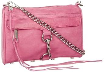 Rebecca Minkoff MAC Convertible Cross-Body Handbag,Bubblegum,One Size