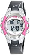 Timex Womens T5J151 1440 Sports Digital BlackPink Resin