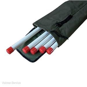 StahlrohrFluchtstäbe (zerlegbar) 2.16 m  6er Paket in Tasche  BaumarktKritiken und weitere Informationen