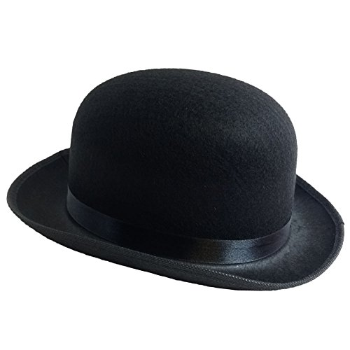 Black Derby Deluxe Hat by Funny Party Hats®