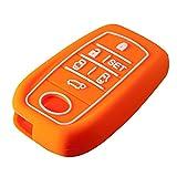 ヴェルファイア 30系 アルファード 30系 スマートキーケース トヨタ スマートキーカバー トヨタ【オレンジ】