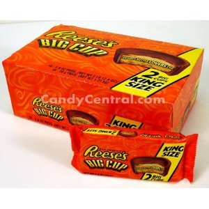 Reeses Big Cup Peanut Butter Cups King Size 32 Peanut Butter Cups
