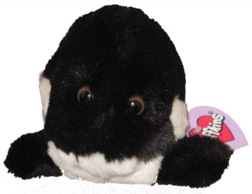 Puffkins Tobby the Orca Whale Plush