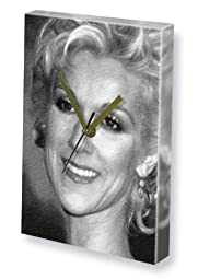 CELINE DION - Canvas Clock (LARGE A3 - Signed by the Artist) #js005