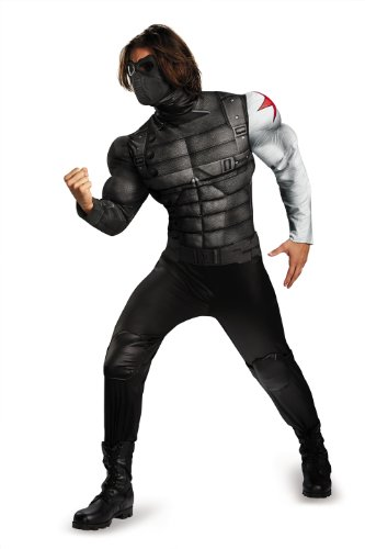 Disgu (Winter Soldier Muscle Adult Costumes)