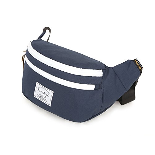 Hotstyle Hobos Waist Bag With Adjustable Belt 15.0''(W)*9.5''(H)*4.0''(T) (Sapphire) front-537151
