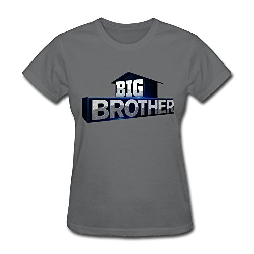 SFMY Women's Big Brother Tv Show Logo T-Shirts M (Wood Brothers T Shirt compare prices)