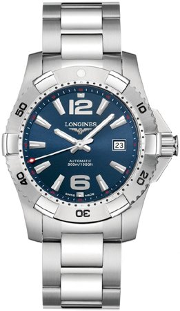 Longines Watches Longines Sport Collection Hydro Conquest Automatic Water Resistant 1000 feet Men's Watch