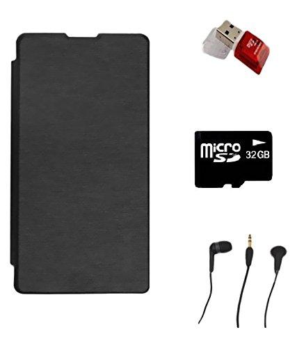 KTC Xiomi Red Mi3 Combo(Flip Cover,32GB Memory Card,Handfree,Card Reader)
