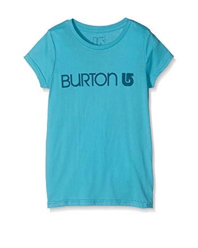 Burton Camiseta Manga Corta GirHer Logo Shorebreak Azul