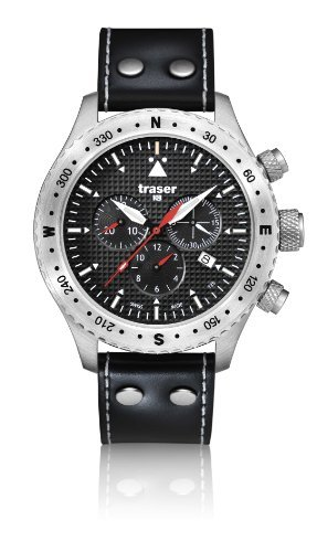 Traser Aviator Jungmann Chronograph Watch w/