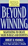 Beyond Winning Publisher: Belknap Press of Harvard University Press
