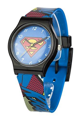 Superman SUP4DC Orologio Unisex, Plastica, Multicolore