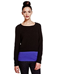 Limited Edition Cropped Jumper with Wool