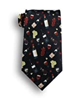 Beverage Mart Silk Tie - Vin De Bordeaux