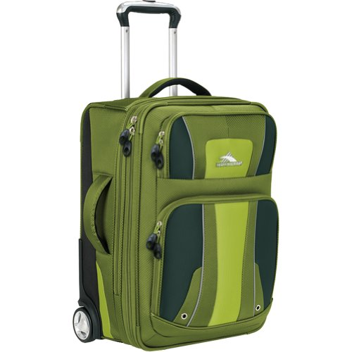 suitcase cheap high sierra evolution 22 inch carry on upright suitcase amazon. Black Bedroom Furniture Sets. Home Design Ideas
