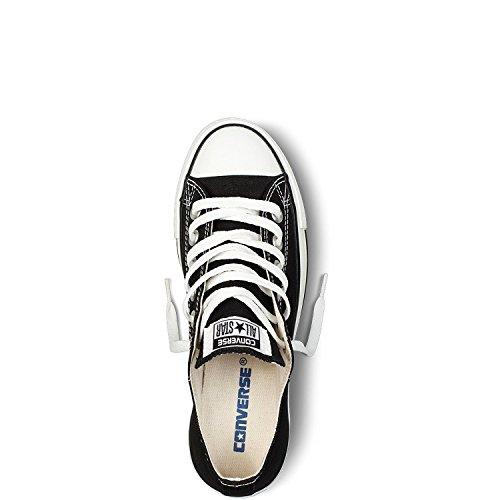Converse Unisex Mens ChuckTaylor All Star OX Oxford Fashion Sneaker Shoe (6 B(M) US Women / 4 D(M) US Men, Black)