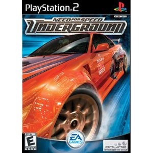 Need For Speed Underground PS2 Game