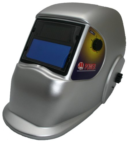 M Power Solar Auto Darkening Welding Helmet: Shade 9-14