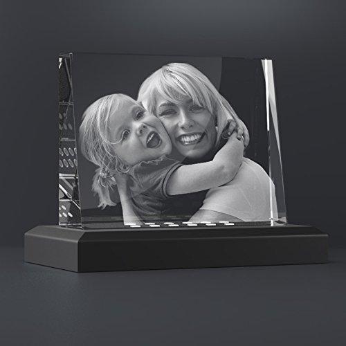 personello glasfoto mit beleuchtung ihr foto in glas gelasert originelles fotogeschenk mit. Black Bedroom Furniture Sets. Home Design Ideas