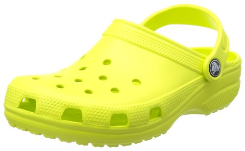 Crocs Unisex Cayman Clog Citrus 10001-738-009 9 UK