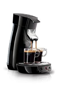 Philips HD7825/60 Senseo Viva Café Kaffeepadmaschine (1450 W, Kalkindikator) schwarz