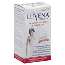 Luvena Vaginal Moisturizer & Lubricant, Prebiotic, Pre-Filled Applicators, 6 ct.