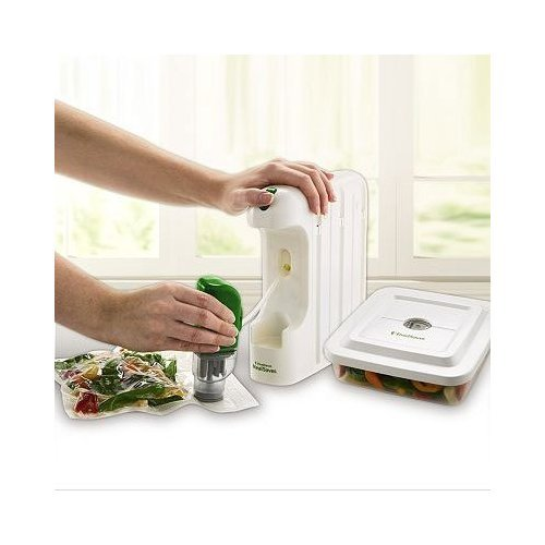 FoodSaver MealSaver Compact Vacuum Sealing System (Foodsaver 1 Gallon Bags compare prices)
