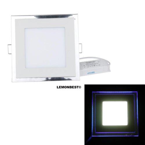 lemonbest new design 100 245v 20w led acrylic recessed led panel light smd ceiling light. Black Bedroom Furniture Sets. Home Design Ideas