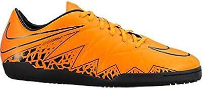 Nike Hypervenom Phelon II IC Indoor Soccer Shoe (Total Orange)