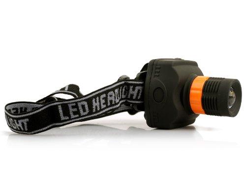Lighting House High Power 5W 300 Lumens Led Headlamp Head Light Telescopic Zoom Dimming Head Torch Bicycle Camping Headlight