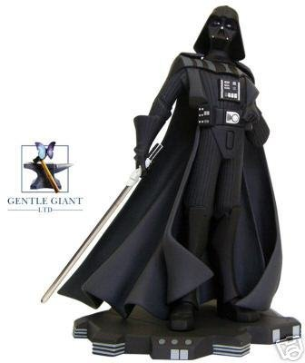 Star Wars Gentle Giant Animated Darth Vader Maquette Black and White Limited to 500 - Buy Star Wars Gentle Giant Animated Darth Vader Maquette Black and White Limited to 500 - Purchase Star Wars Gentle Giant Animated Darth Vader Maquette Black and White Limited to 500 (Gentle Giant, Toys & Games,Categories,Action Figures,Statues Maquettes & Busts)