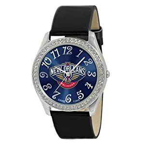 New Orleans Hornets Ladies Watch - Designer Diamond Watch by Game Time
