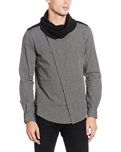 Antony Morato Camisa Hombre Regular Gris