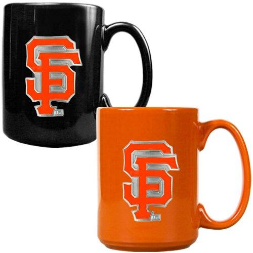 San Francisco Giants Mlb 2Pc Ceramic Mug Set - Primary Logo
