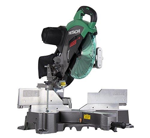 hitachi-c12rsh2-15-amp-12-inch-dual-bevel-sliding-compound-miter-saw-with-laser-marker