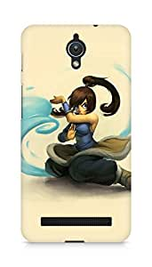 Amez designer printed 3d premium high quality back case cover for Asus Zenfone C ZC451CG (Cute young avatar korra drawing art)