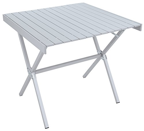 ALPS Mountaineering 8350911 31 x 31 x 28-Inch Dining Table, Square (Silver)