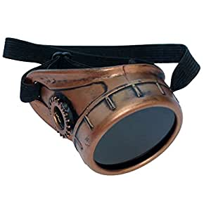 Steampunk copper monocle dark lens RIGHT eye - - Amazon.com