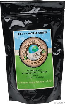 Wooden Bike Coffee Decaf Ground 12oz