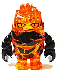 LEGO® Rock Monster FIRAX (Trans-Orange with Black Arms) - Power Miners Minifigure